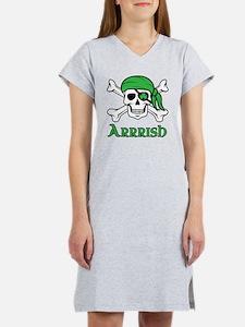 Irish Pirate Women's Nightshirt
