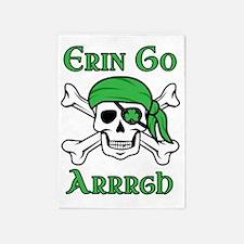 Irish Pirate 5'x7'Area Rug