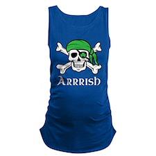 Irish Pirate - Arrrish Maternity Tank Top