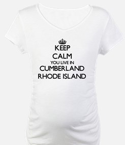 Keep calm you live in Cumberland Shirt