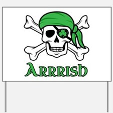 Irish Pirate - Arrrish Yard Sign