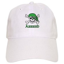 Irish Pirate - Arrrish Baseball Cap