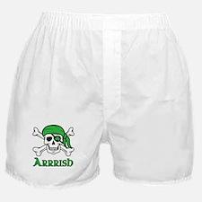 Irish Pirate - Arrrish Boxer Shorts