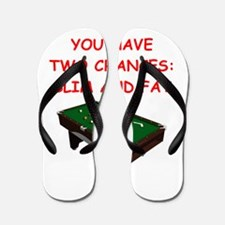 Cute Billiards Flip Flops
