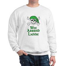 Irish Pirate - Wee Arrrish Laddie Sweatshirt