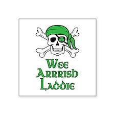 Irish Pirate Sticker