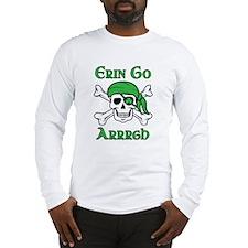 Irish Pirate - Erin Go Arrrgh Long Sleeve T-Shirt