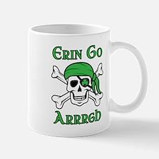 Irish Pirate - Erin Go Arrrgh Mugs
