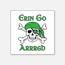 Irish Pirate - Erin Go Arrrgh Sticker