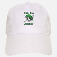 Irish Pirate - Erin Go Arrrgh Baseball Baseball Cap
