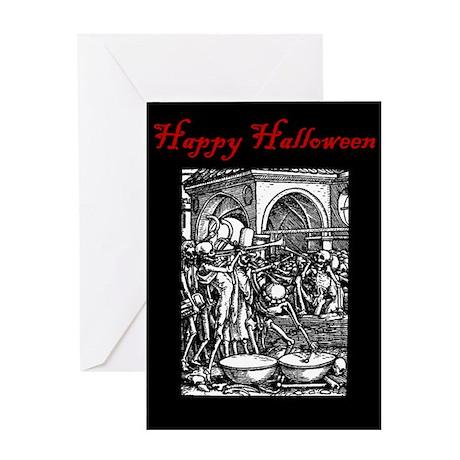 Bone Orchestra Halloween Card