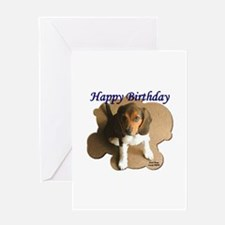 Beagle Greeting Card