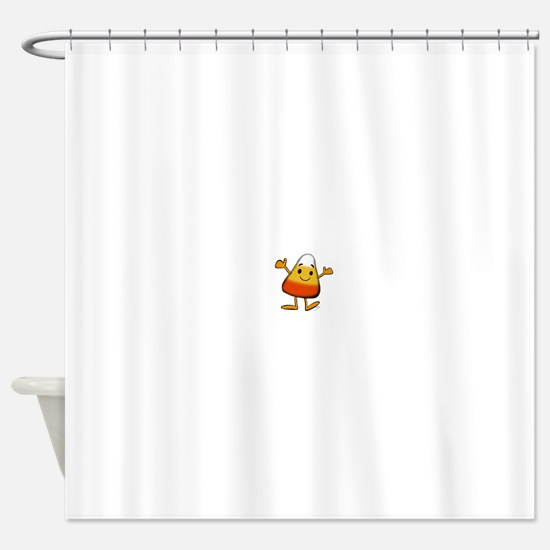 Happy Candy Corn! Shower Curtain