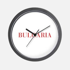 Bulgaria-Bau red 400 Wall Clock