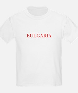 Bulgaria-Bau red 400 T-Shirt