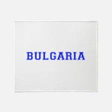 Bulgaria-Var blue 400 Throw Blanket