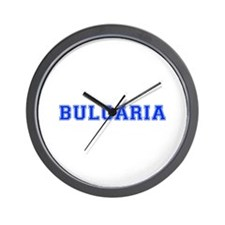 Bulgaria-Var blue 400 Wall Clock