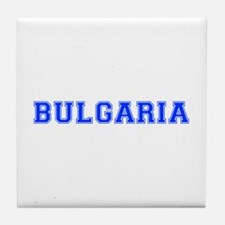 Bulgaria-Var blue 400 Tile Coaster