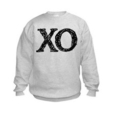 XO - black and white Sweatshirt