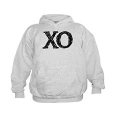 XO - black and white Hoodie