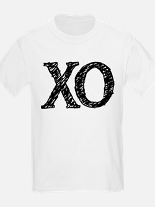 XO - black and white T-Shirt