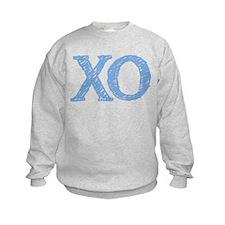 XO - baby blue Sweatshirt
