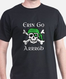 Irish Pirate - Erin Go Arrrgh T-Shirt