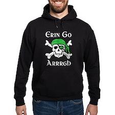 Irish Pirate - Erin Go Arrrgh Hoodie