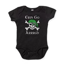 Irish Pirate - Erin Go Arrrgh Baby Bodysuit