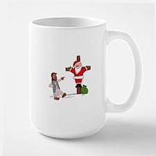 Jesus gets the last laugh on Santa. Mugs