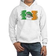 Irish Pirate Flag - Jolly Roger Hoodie