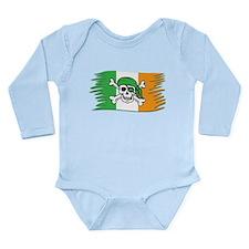 Irish Pirate Flag - Jolly Roger Body Suit