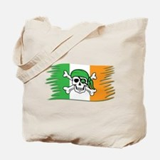 Irish Pirate Flag - Jolly Roger Tote Bag