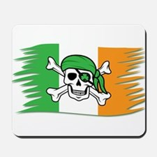 Irish Pirate Flag - Jolly Roger Mousepad
