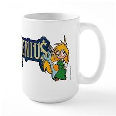 Chibi Girl Genius Large Mug