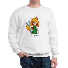 Chibi Girl Genius Sweatshirt