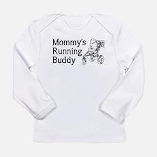 Mommy's Running Buddy Long Sleeve T-Shirt
