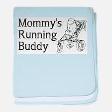 Mommy's Running Buddy baby blanket