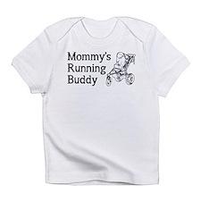 Mommy's Running Buddy Infant T-Shirt