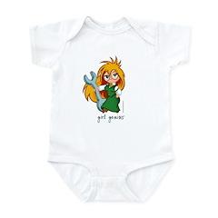 Chibi Girl Genius Infant Bodysuit