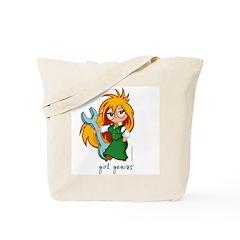 Chibi Girl Genius Tote Bag