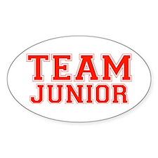Team Junior Oval Decal