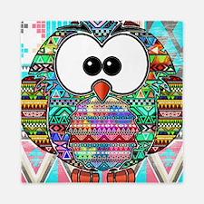 Owl Aztec Queen Duvet