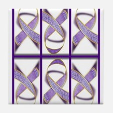 Ribbons for Change Tile Coaster