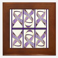Ribbons for Change Framed Tile