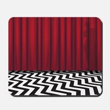 Black Lodge Twin Peaks Mousepad