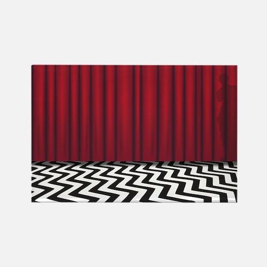 Black Lodge Twin Peaks Magnets