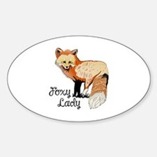 FOXY LADY Decal