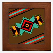 NATIVE DESIGN Framed Tile