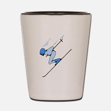 Ski Racer Shot Glass